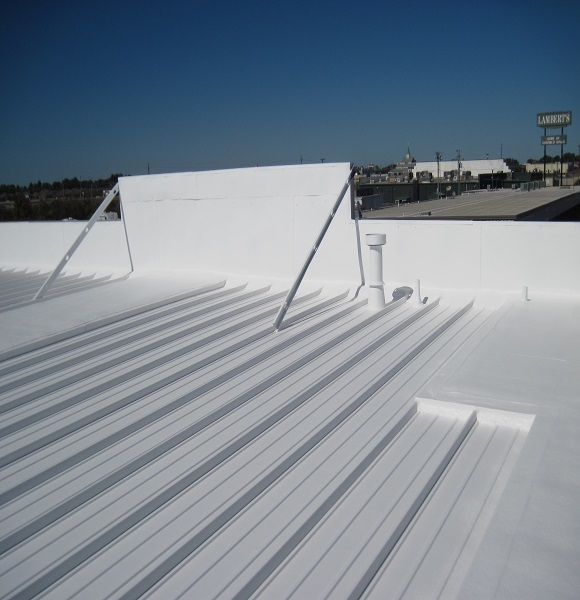 Metal Sheet Roof Thermal Insulation Application